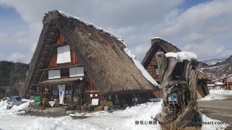 [合掌村美食] 白川鄉落人咖啡館,好吃咖哩飯跟無限暢飲紅豆湯