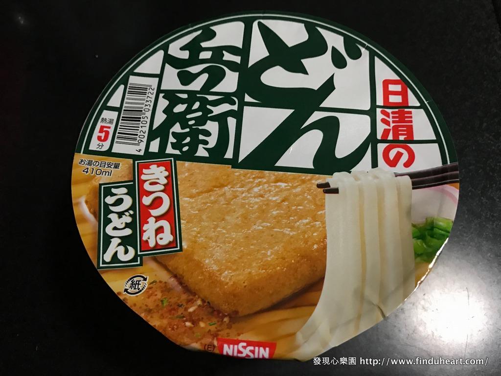 日本泡麵–日清豆皮泡麵のどん兵衛